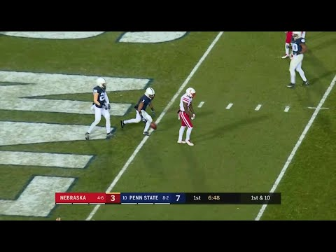 Nebraska Takes the Lead vs. Penn State