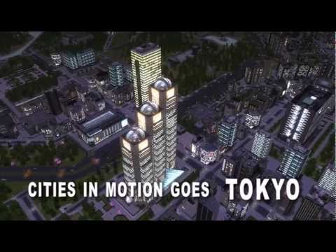 Cities in Motion: Tokyo Release Trailer