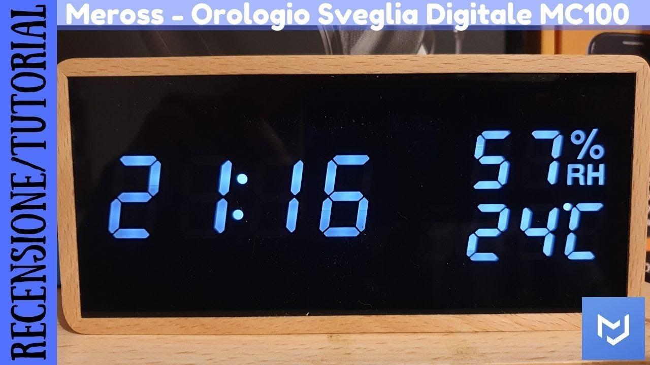 Solo per citare, ho esaminato 39 ore, 0 prodotto da acquistare e testare 4 di sveglia digitale da comodino a corrente i elencato. Recensione E Tutorial Orologio Sveglia Da Tavolo E Da Comodino Della Meross Mc100 Youtube