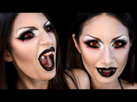 Vampiresa o Demonia Maquillaje / Sexy Vampire Demon Halloween Makeup