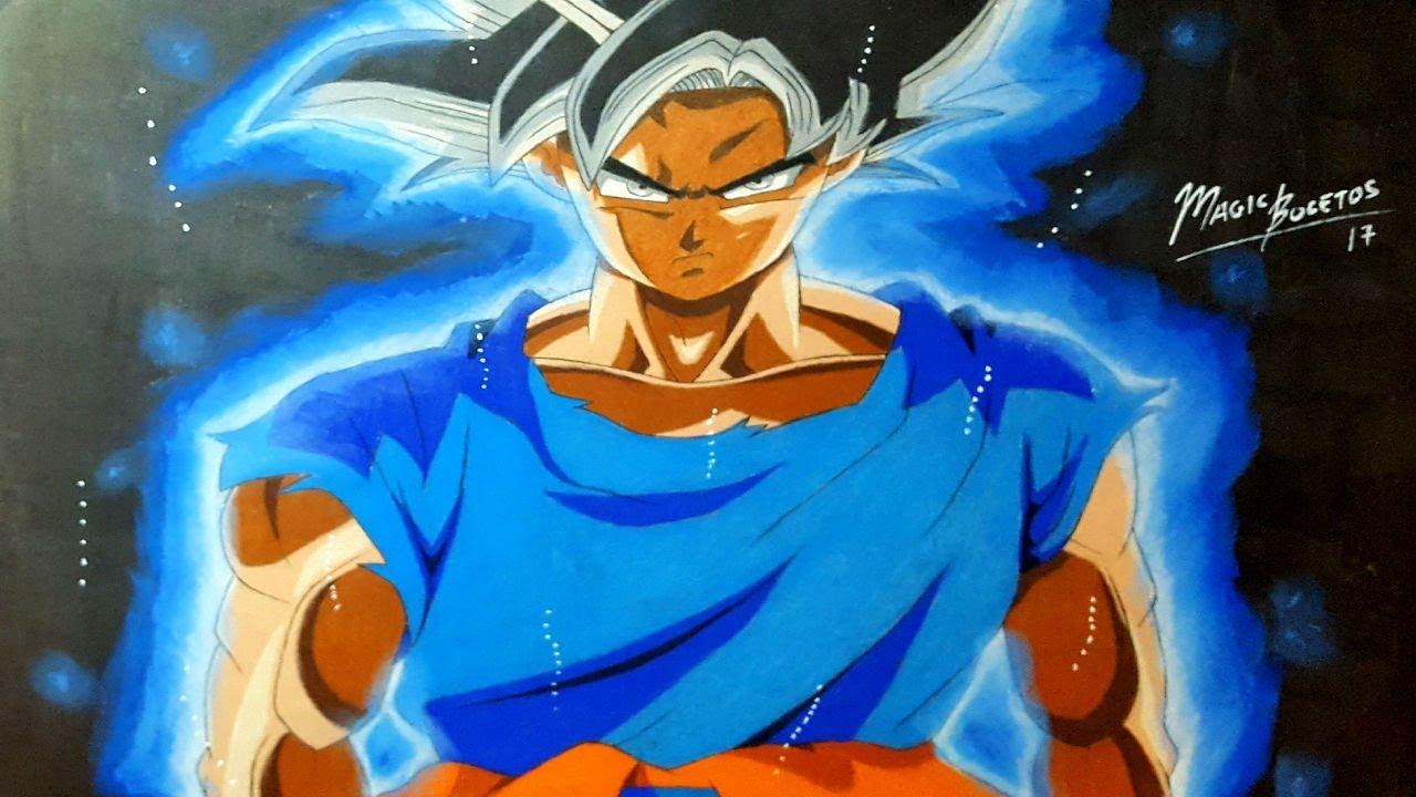 50 Imágenes De Goku Para Dibujar: Cómo Dibujar A GOKU MIGATTE NO GOKUI-ULTRA INSTINTO