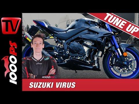 Nakedbike mit mehr als 200PS! | Wir starten Teil 1 des Suzuki Virus Tuning Projekts