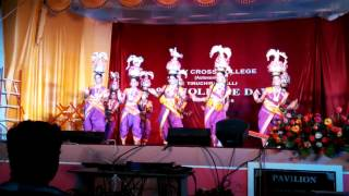 Karagam folk dance - Holy Cross College Annual Day Celebrations