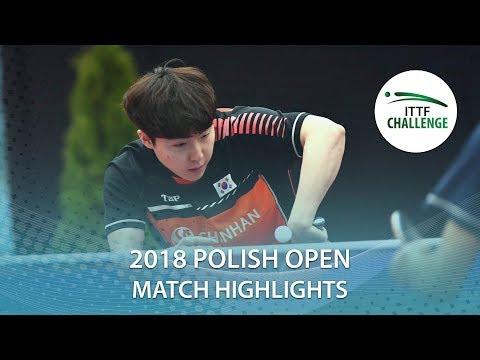 2018 Polish Open Highlights I Lim Jonghoon vs Jang Woojin (Final)