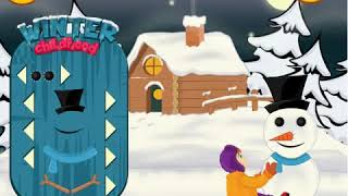 Игры для девочек онлайн бесплатно Лепим веселого снеговика
