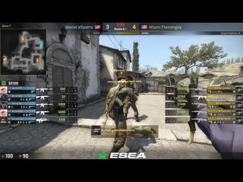 [ES] Miami Flamingos vs Denial eSports - MDL Season 25 - Inferno