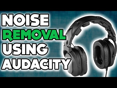 Noise Removal Tutorial using Audacity 2016 | How to remove background noises from audio| White Noise
