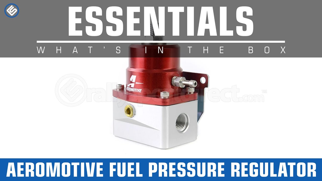 Aeromotive Fuel Pressure Regulator- Whats in the Box? - YouTube