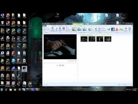 Adding both music and voiceover in Windows Live Movie Maker