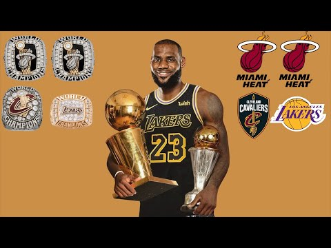 Lebron James: 4 Rings in 4 Minutes