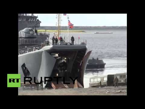 Russia: Northern Fleet begins military drills in Arctic