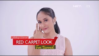 Red Carpet Makeup Tutorial for Tanned - ILOOK