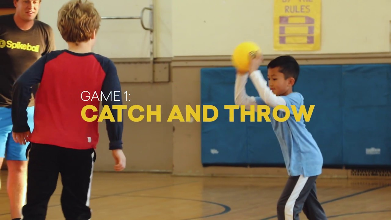 Spikeball™ Rookie Game 1 - Catch and Throw