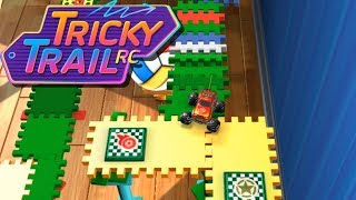 FUN TOY RC Car vs Crazy Obstacle Course! - Tricky Trail RC Gameplay - Cool Toy Cars! (Kid Friendly)