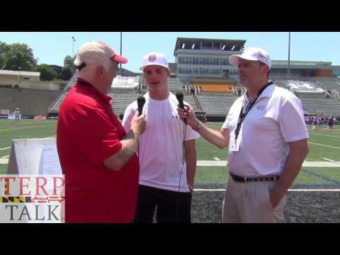 Bubba Fairman TerpTalk Interview Under Armour Lacrosse All American 2017