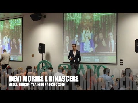 DEVI MORIRE E RINASCERE - Il MIGLIOR Training Network Marketing che tu abbia mai
