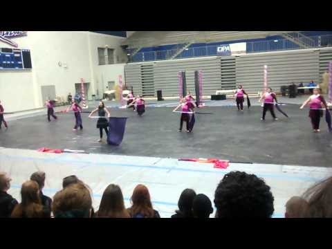 Woodmont High School Varsity Winter Guard 2015