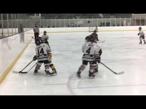 CUJO Invitational Tournament - Round 2 Game - Tecumseh Eagles Novice AE Versus Niagara Falls Flyers
