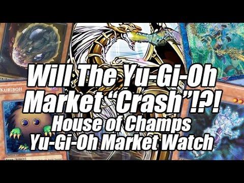 Will The Yu-Gi-Oh Market Crash!?! Insane Buyouts Surging! House of Champs Yu-Gi-Oh Market Watch