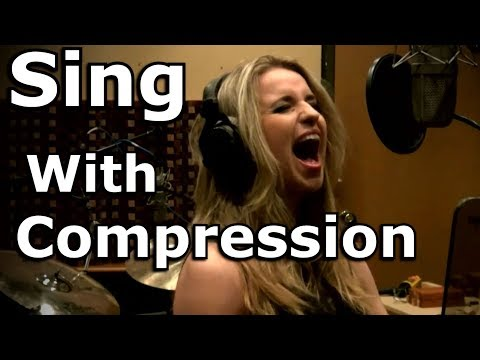 Sing With Compression - Vocal Fry Singing - Gabriela Gunčíková - Ken Tamplin Vocal Academy