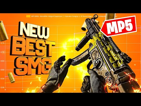 THIS IS THE NEW BEST SMG IN WARZONE *MW MP5 Class Setup*