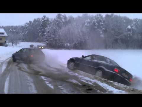 Audi 80 QUATTRO helps BMW