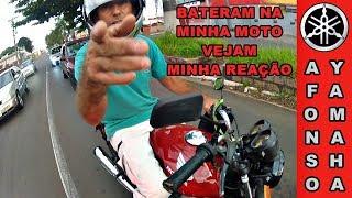 Bateram na minha moto #Vejam minha reação
