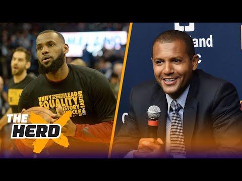 Joe Vardon joins Colin to talk LeBron's new-look Cavaliers after 120-112 win over OKC   THE HERD