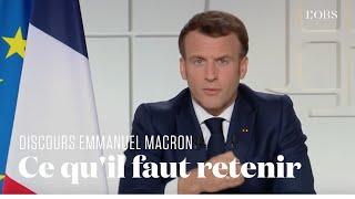 Ecoles fermées, confinement, couvre-feu : les 5 mesures à retenir des annonces d'Emmanuel Macron