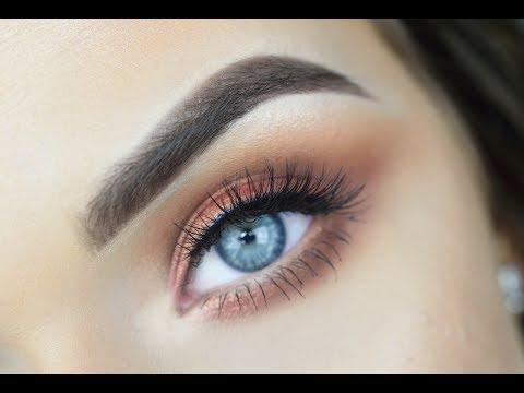 URBAN DECAY NAKED HEAT   Eye Makeup Tutorial