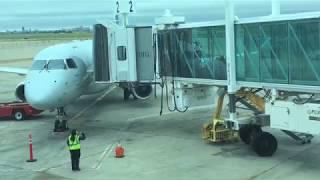 Full Flight American Eagle EMB 175 Amarillo to Dallas