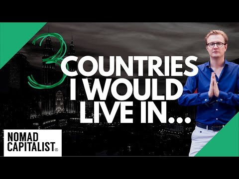 If I Could Only Choose Three Countries to Live In...