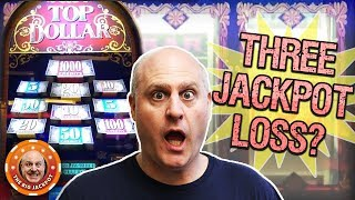 ✦ 3 TOP DOLLAR JACKPOT LOSS! ✦ High Limit Slot Play 🎰| The Big Jackpot