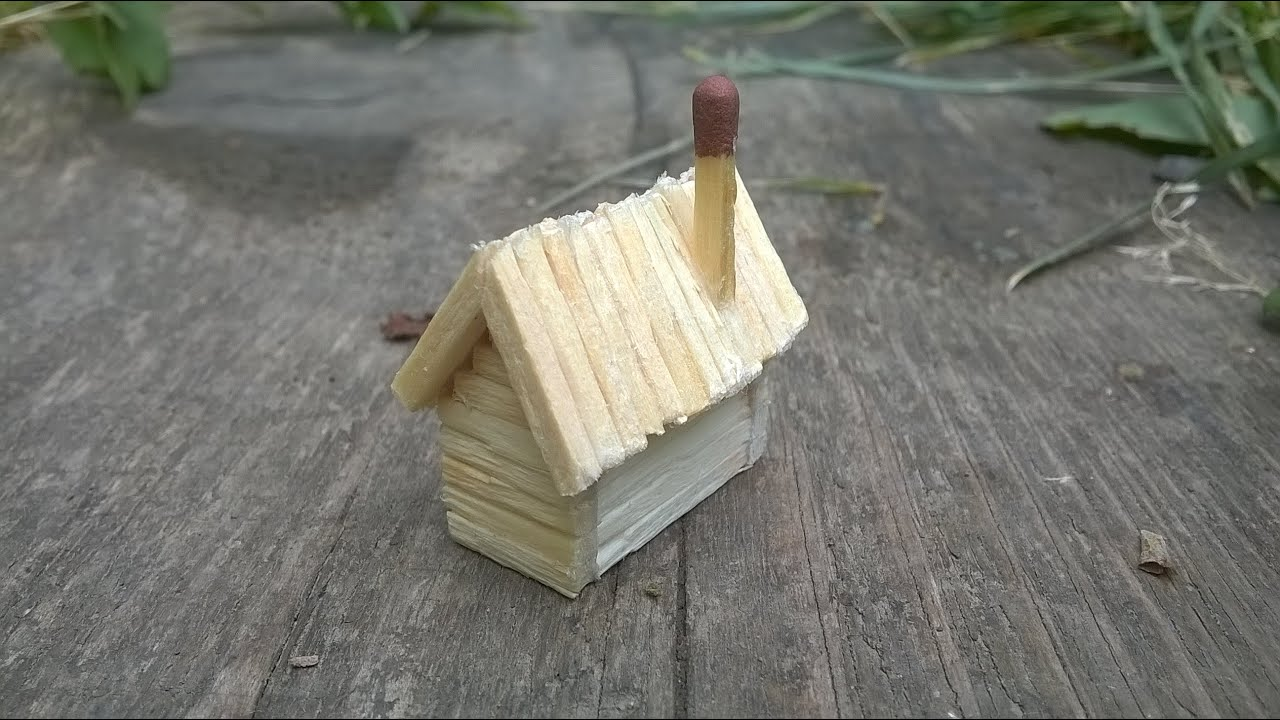 the smallest house in the world with matchsticks youtube - Smallest House In The World 2016