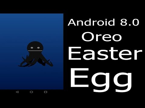 How To Open Android Oreo Easter Egg (Hidden Black Octopus)