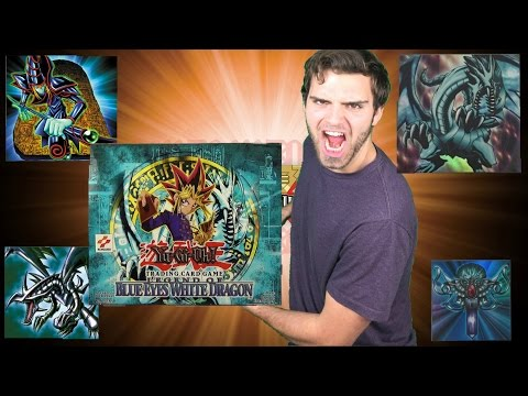 CLASSIC Yugioh Booster Box Battle! LOB vs MRL Legend Of Blue Eyes White Dragon Opening! Patron Power