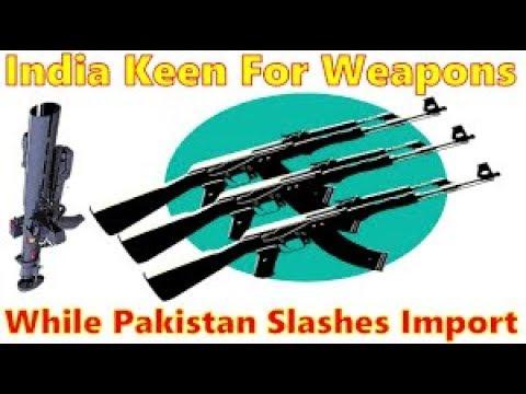 Pakistan weapons import list 2018