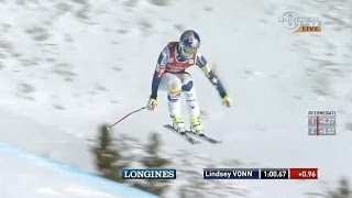 Lindsey Vonn makes her return at Lake Louise - Universal Sports
