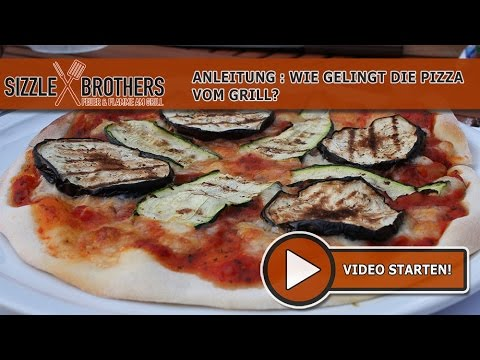 Enders Gasgrill Pizza : Pizza vom grill pizzastein anleitung sizzlebrothers youtube