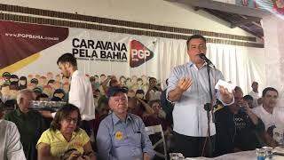 Caravana PGP pela Bahia com Rui Costa esteve neste domingo em Itabaraba