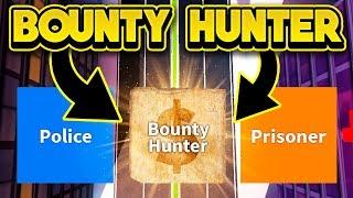 ¡JUGANDO JAILBREAK COMO UN HUNTER BOUNTY! (ROBLOX Jailbreak)