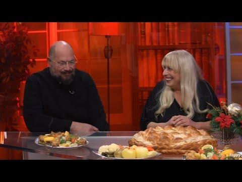 Otac Gligorije I Jasna Jojic Objasnjavaju Kako Se Nekad Slavio Bozic - DJS - (TV Happy 05.01.2020)