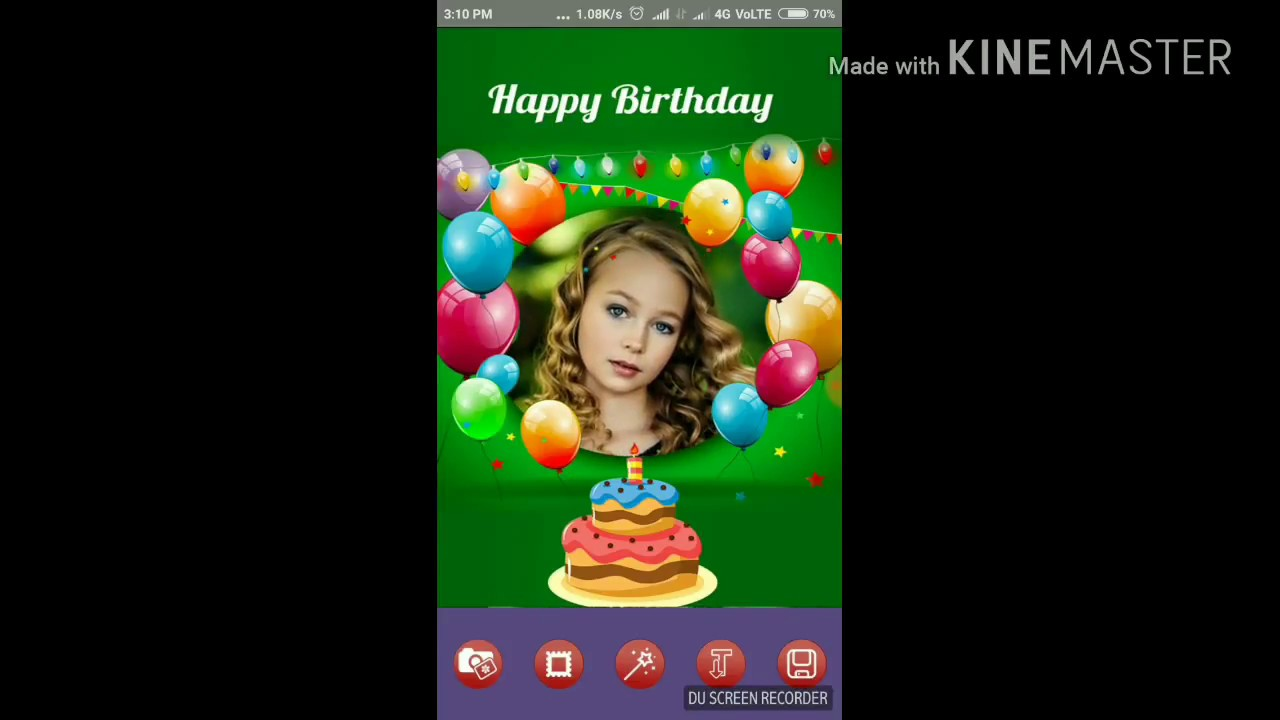 Best Happy Birthday Card Maker App