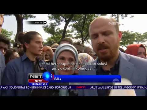 Kunjungan Ibu Negara Turki Ke Rakhine - NET12