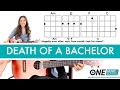 Death of a Bachelor - Panic! At The Disco Ukulele Lesson/Tutorial