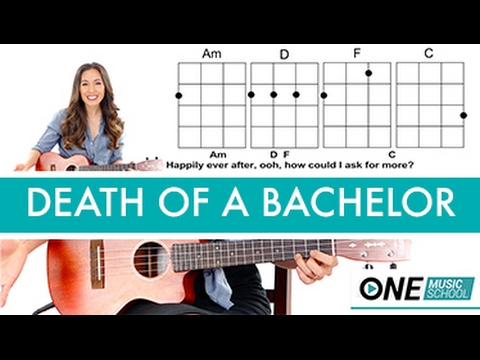 Death Of A Bachelor Panic At The Disco Ukulele Lessontutorial
