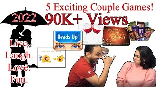2021 Valentine's day | 5 Exciting Couple Games | unique and funny games