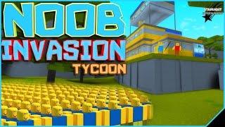 🔥 ROBLOX [#61] NOOB INVASION TYCOON!