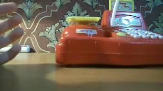 Обзор игрушек - игрушечная касса