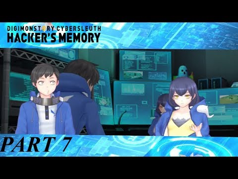 Lets Play Digimon Story Hacker's Memory Part 7 Erika's Secret and OH GOD NOT THIS GUY!